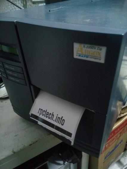 Impressora Argox X2000v Zip Muito Nova C/ Riscos Na Cabeça