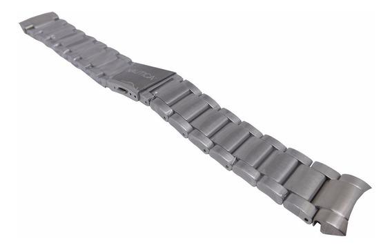 Pulseira Nautica N14555g N18637g Bfc Aço Metal 100% Original