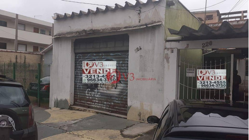 Terreno À Venda, 301 M² Por R$ 890.000,00 - Vila Nova Savoia - São Paulo/sp - Te0012