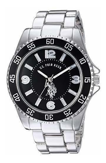 Reloj Para Hombre U.s. Polo Assn. Modelo: Usc80515, Metal