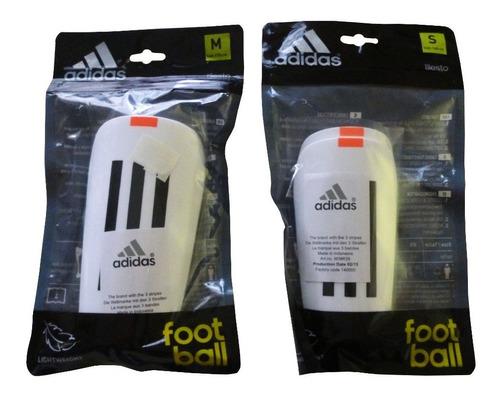 Imagen 1 de 3 de Canilleras adidas De Futbol 11lesto Original