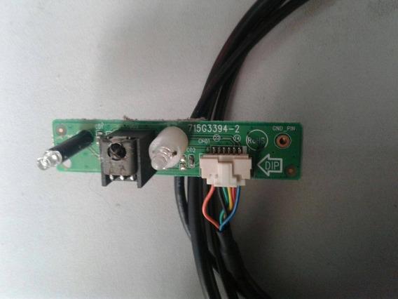 Placa Sensor Controle Remoto Tv Aoc L32w931 715g3394-2