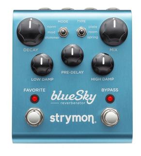 Strymon Bluesky Reverberator Pedal De Reverb
