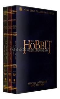 El Hobbit Version Extendida Saga Completa 3 Dvd Coleccion