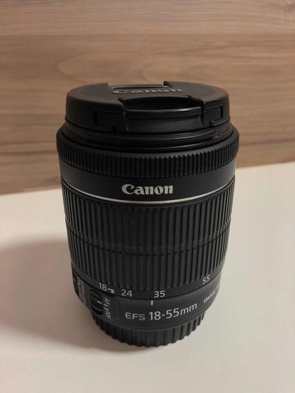Lente Cânon Ef-s 18-55 Mm