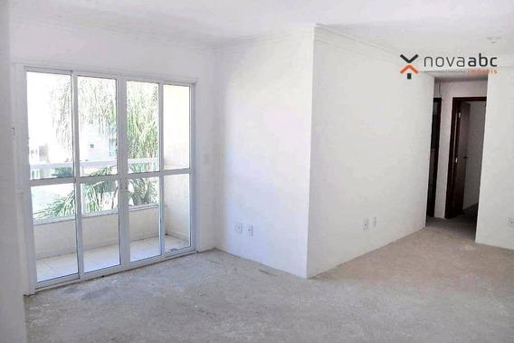 Apartamento Com 3 Dormitórios À Venda, 90 M² Por R$ 400.000 - Vila Gilda - Santo André/sp - Ap1968