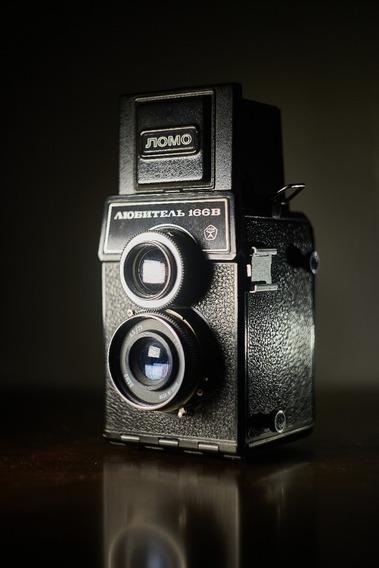 Câmera Lomo Lubitel 166b - Funcionando Perfeitamente