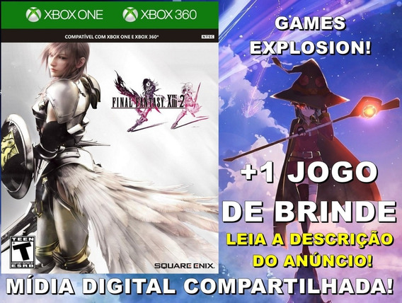 Final Fantasy Xiii-2 13 Xbox 360/ One +1 Jogo -mídia Digital