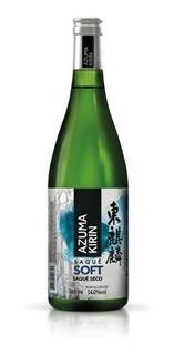 Sake Azuma Kirin Soft 740ml - Kit C/ 10unids