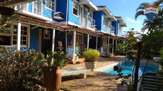 Apartamento Duplex Com 2 Dormitórios À Venda, 75 M² Por R$ 1.200.000 - Taperapuã - Porto Seguro/ba - Ad0028