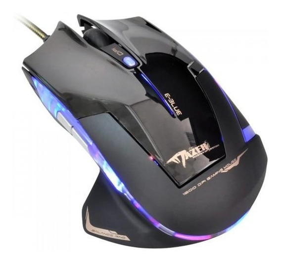 E-blue - Mouse Optico Mazer Type-r 2400dpi - Ems124bk