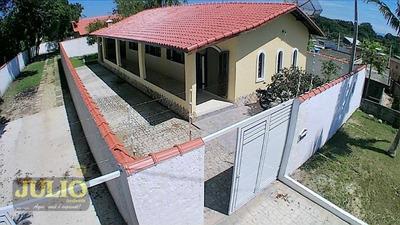 Casa Com 3 Dormitórios À Venda, 127 M² Por R$ 240.000 - Umuarama Parque Itanhaém - Itanhaém/sp - Ca3501