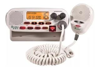 Rádio Vhf Cobra Mr F45-d Maritimo De 25 Watts Homologado