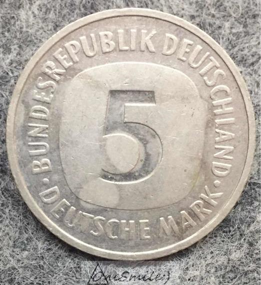 Onesmile:) Moneda De Alemania 5 Mark 1992