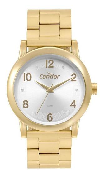 Relógio Feminino Condor Bracelete Dourado Co2035mqo/t8c