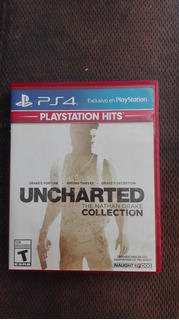 Juego Ps4 Uncharted (the Nathan Drake Collection)