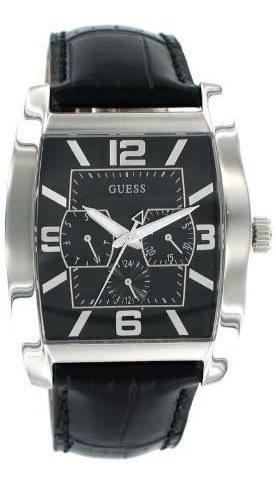 Relógio Masculino Guess U95012g1 Resistente A Aguá Couro