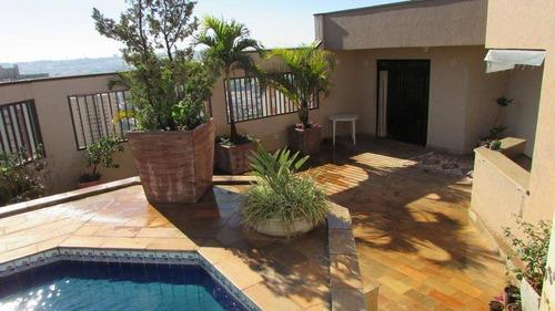 Imagem 1 de 30 de Cobertura Com 5 Dormitórios À Venda, 450 M² Por R$ 2.000.000,00 - Centro - Limeira/sp - Co0001