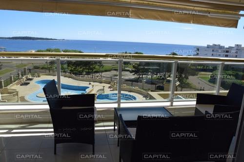 Le Jardin Punta Del Este, Apartamento De Tres Dormitorios En Venta -ref:25117