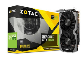 Zotac Geforce Gtx 1070 Mini 8gb | Vista 1250c/freete