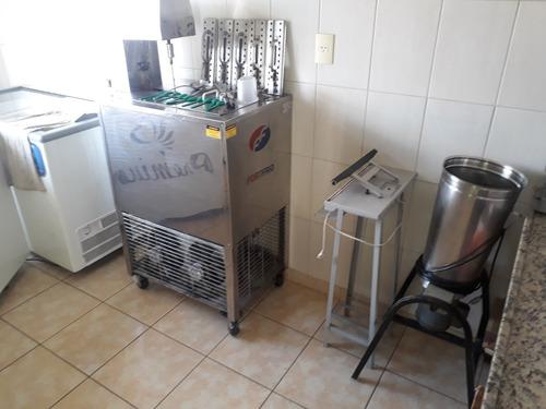 Maquina De Picolé E Carrinhos