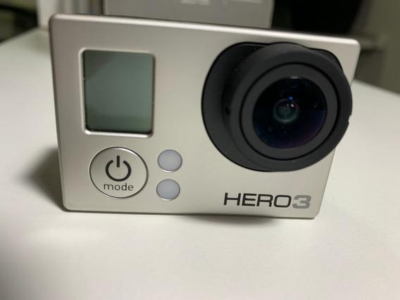 Gopro Hero 3 Silver Edition 11mega Px Full Hd 1920x1080 Wifi