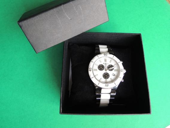 Relógio De Pulso Masculino M. Johansson Ceramico Cronografo