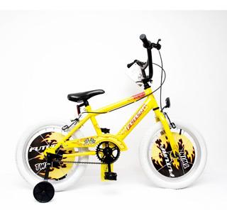 Bicicleta Rodado 16 Para Varon Futura Twin Bmx C/ Rueditas