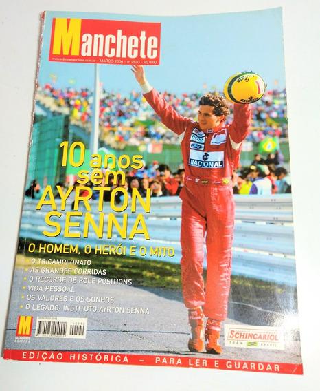 Matérias Ayrton Senna Trechos Revista Manchete 2004
