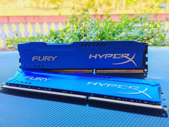 Hyperx Fury Blue 8gb - 1866mhz
