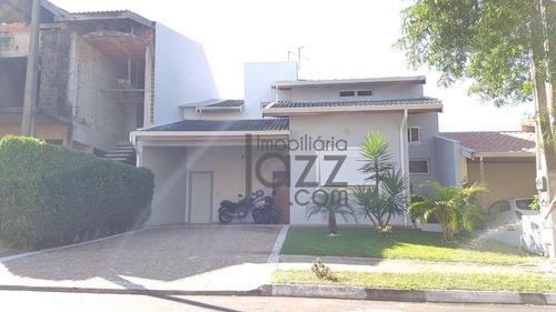 Casa Com 3 Dormitórios À Venda, 215 M² Por R$ 795.000,00 - Condomínio Campos Do Conde - Paulínia/sp - Ca4851