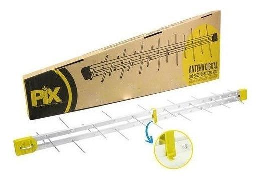 Kit 3 Antena Digital 34 Elementos Log Hdtv 008-9522 P