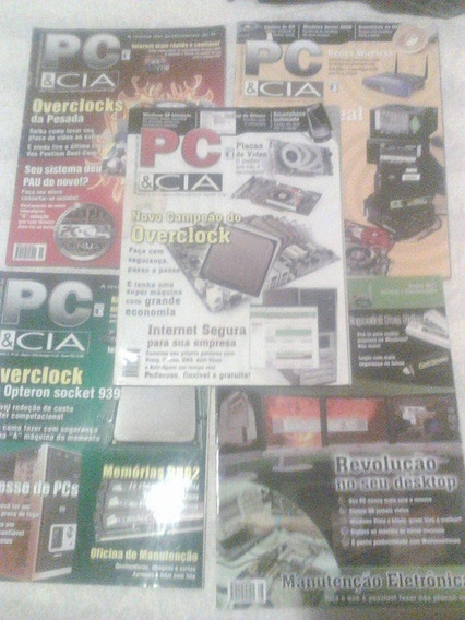 Lote Revistas Pc/cia 06 07 08