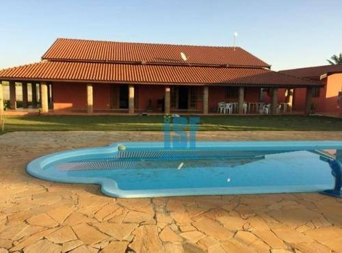 Chácara Com 4 Dormitórios À Venda, 6000 M² Por R$ 780.000 - Condomínio Reserva Campos De Boituva - Boituva/sp - Ch0019. - Ch0019