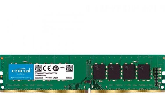 Memoria Ram Ddr4 4gb Crucial 2400mhz Desktop Pc Original