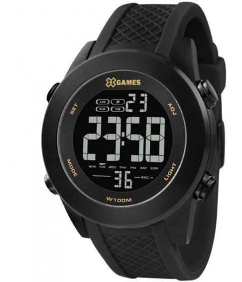 Relógio Xgameswatch Masculino Digital Preto Caixa Xmnpd001
