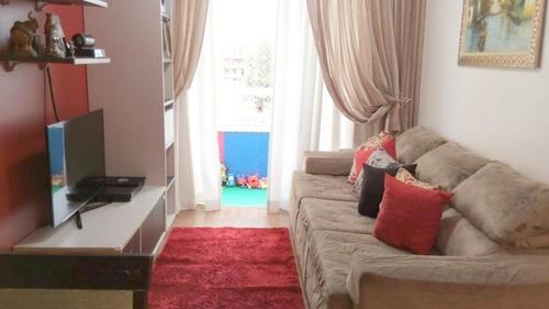 Apartamento Com 3 Dormitórios À Venda, 69 M² Por R$ 369.900 - Vila Rio De Janeiro - Guarulhos/sp - Ap0890