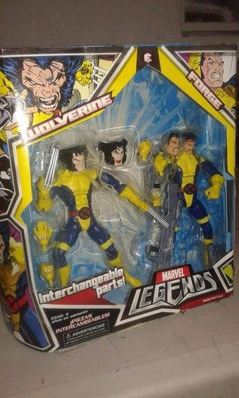 Wolverine Y Forge Set Marvel Legends