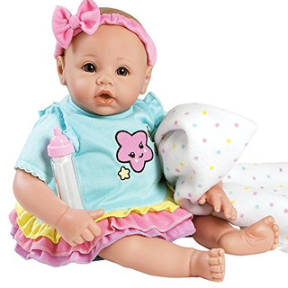 Adora Babytime Rainbow Weighted Girl Vinilo Baby Doll Con Cu