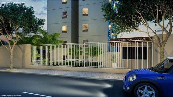 Apartamento 2 Dormitórios Com Varanda A 100mts Da Estação