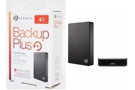 Hd Externo Seagate 4tb Backup Plus Portátil 2.5 Cor Prata