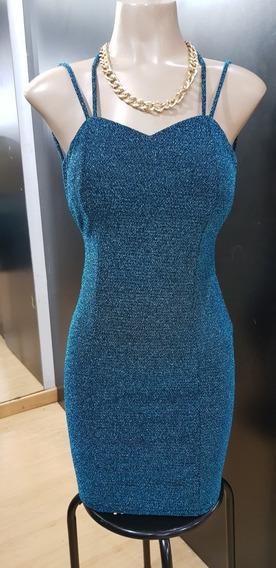 .vestido Corto Elastizado ...