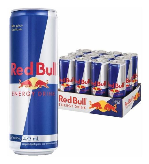 Energético Red Bull Energy Drink, 473 Ml (12 Latas)
