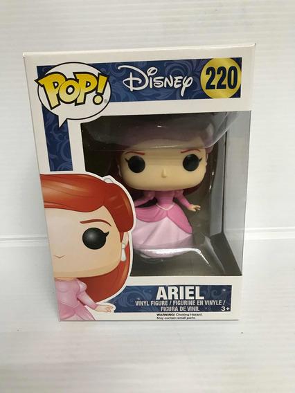Funko Pop 220 Disney La Sirenita Ariel Vestido Original