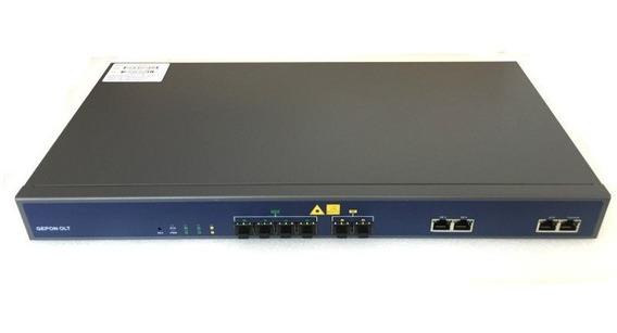 S. 1 Un Olt Epon V-solution V1600 D4- L 1u 4pon-2 Sfp-2 Ge-rj45 + 4 Gbics Px20++ ( Completa Bivolt ) 12x Sem/ Juros Nfe