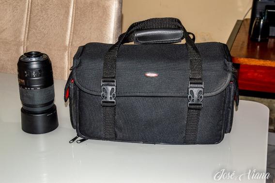 Lente Nikon Af-s 55- 300mm F/4, 5- 5.6 + Bolsa De Brinde