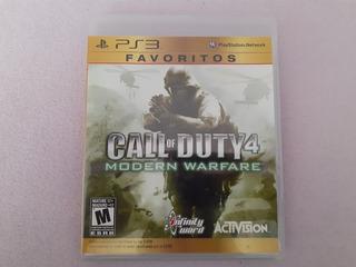 Call Of Duty 4 Modern Warfare Favoritos Para Ps3