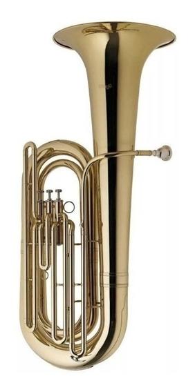 Bb Tuba De 3 Pistones Stagg + Estuche Wsbt235s