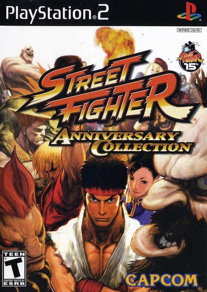Street Fighter Aniversary Collection - Ps2 (frete Único)