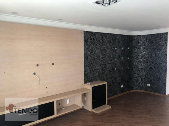 Apartamento 180 M² - 4 Dormitórios - 4 Suítes - Santa Paula - São Caetano Do Sul/sp - Ap1245